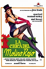 The Girl from the Red Cabaret Poster