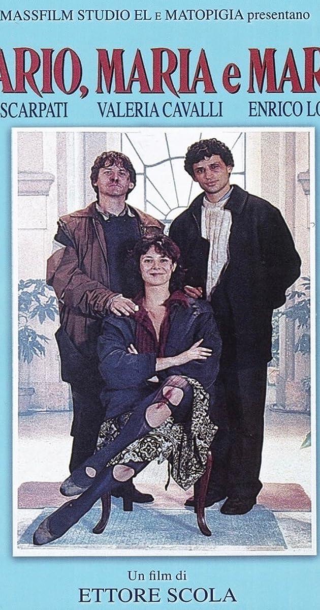 Mario, Maria e Mario (1993) - IMDb