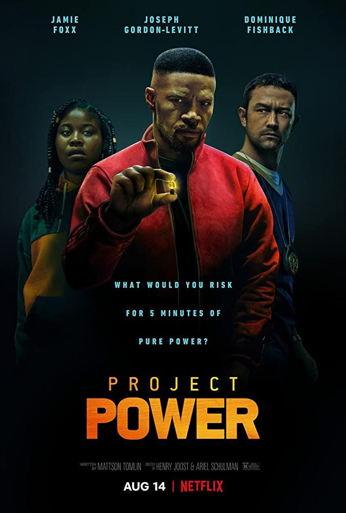 Project Power 2020 Hindi Dubbed ORG Movie 720p NF HDRip 900MB ESubs MKV