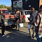 BTS; on set for Girl in the Photographs (Victoria, BC)