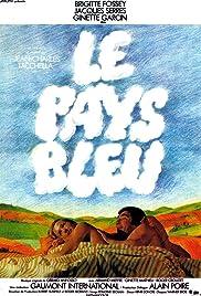 Le pays bleu Poster