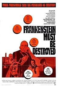 Frankenstein Must Be Destroyed (1970) Poster - Movie Forum, Cast, Reviews