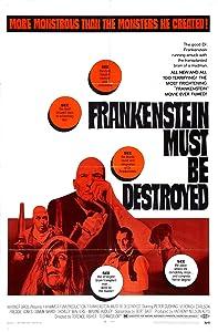 Cost free movie downloads Frankenstein Must Be Destroyed [avi]