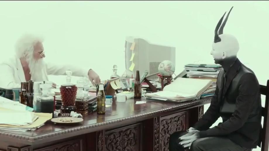 Paolo Pierobon and Fabrizio Biggio in La solita commedia: Inferno (2015)