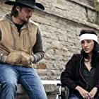 Kelsey Asbille and Luke Grimes in Yellowstone (2018)