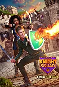 Lexi DiBenedetto, Amarr M. Wooten, Lilimar, Owen Joyner, Savannah Lee May, and Daniella Perkins in Knight Squad (2018)