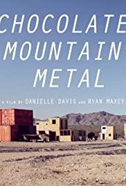 Chocolate Mountain Metal Poster