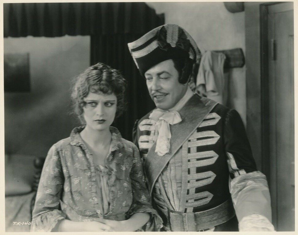 Dolores Costello and Warner Oland in When a Man Loves (1927)