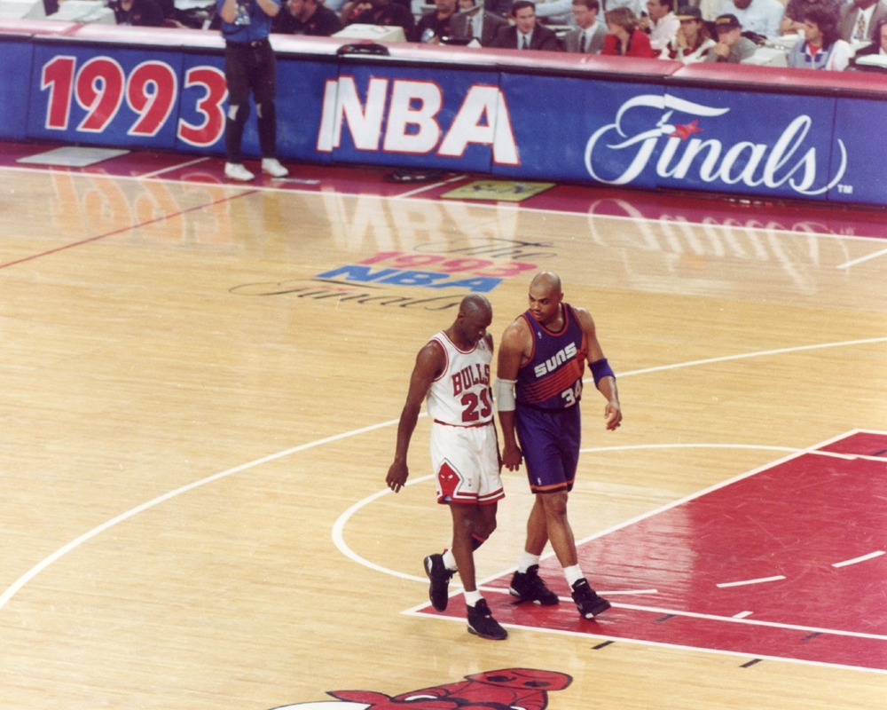 Michael Jordan in The 1993 NBA Finals (1993)