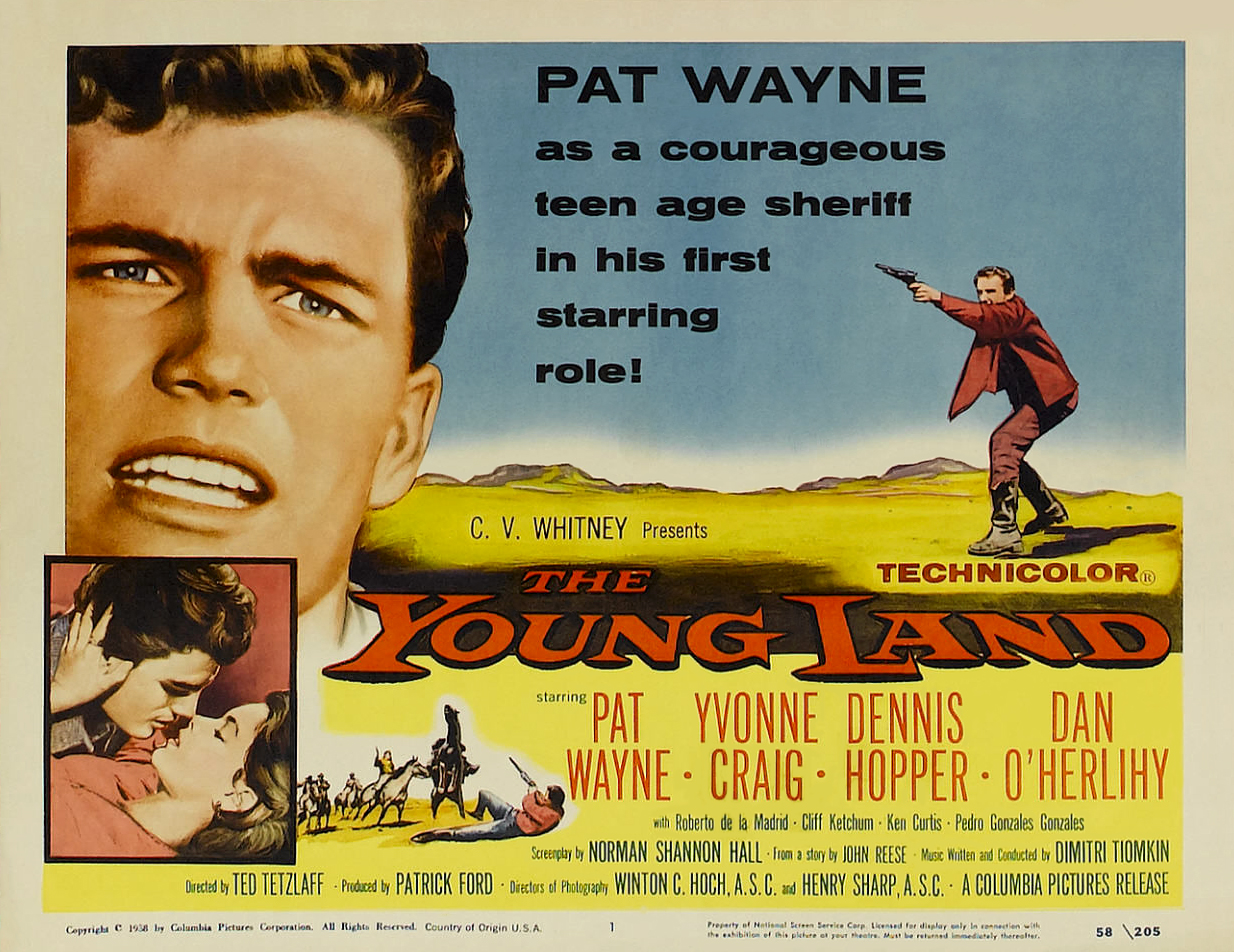 Yvonne Craig and Patrick Wayne in The Young Land (1959)