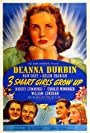 Deanna Durbin, Robert Cummings, Nan Grey, William Lundigan, and Helen Parrish in Three Smart Girls Grow Up (1939)