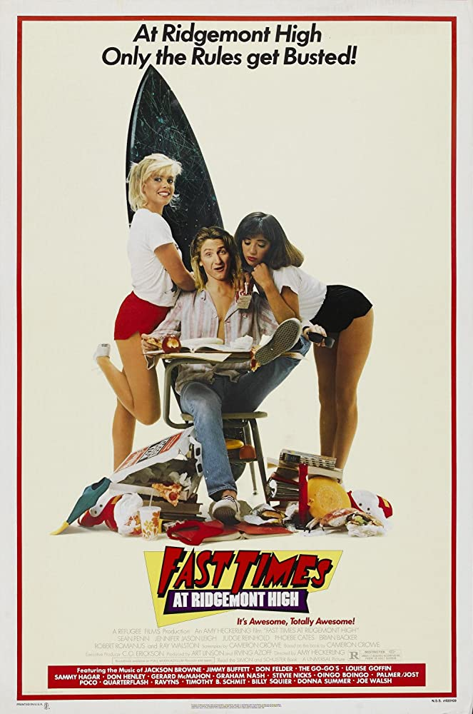 18+ Fast Times At Ridgemont High 2020 English Hot Movie 720p BluRay 600MB x264 AAC Download