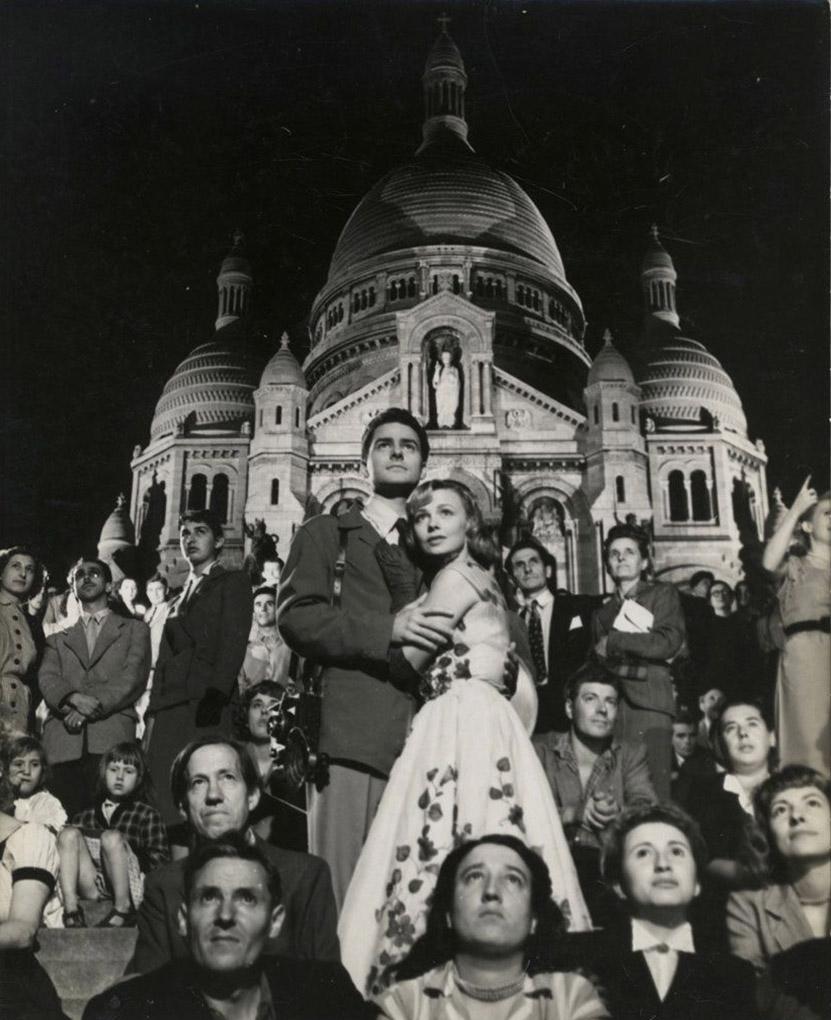 Dany Robin and Michel Roux in La fête à Henriette (1952)