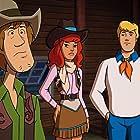 Matthew Lillard, Grey Griffin, and Frank Welker in Scooby-Doo! Shaggy's Showdown (2017)