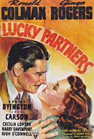 Ginger Rogers and Ronald Colman in Lucky Partners (1940)