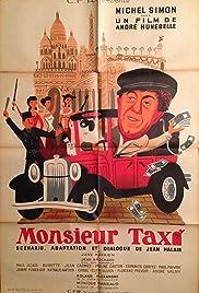 Monsieur Taxi Poster