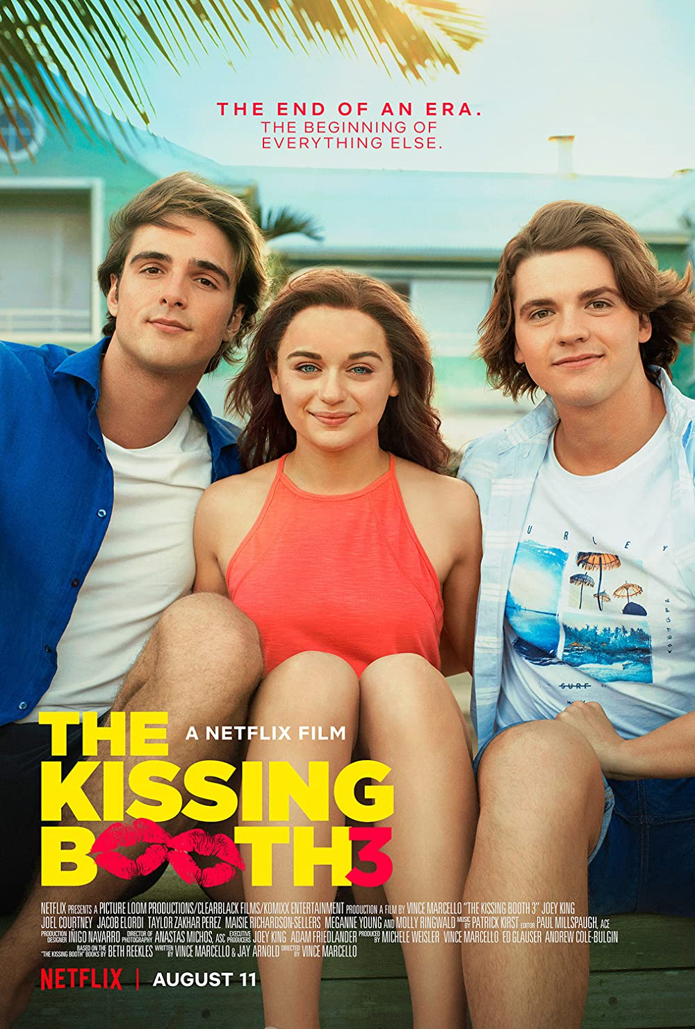 The Kissing Booth 3 2021 Hindi ORG Dual Audio 720p NF HDRip MSub 800MB Download