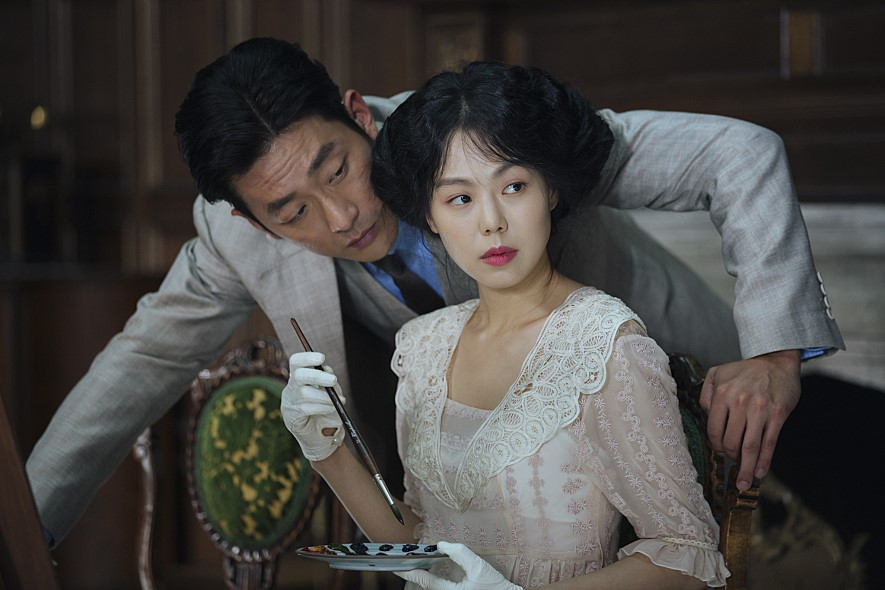 Min-hee Kim and Jung-woo Ha in Ah-ga-ssi (2016)