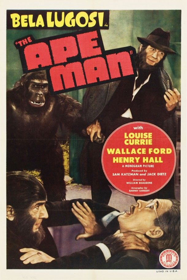 Bela Lugosi, Henry Hall, and Emil Van Horn in The Ape Man (1943)