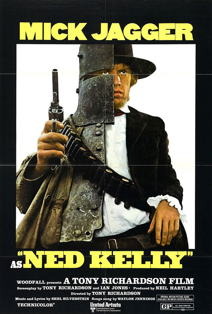 Mick Jagger in Ned Kelly (1970)
