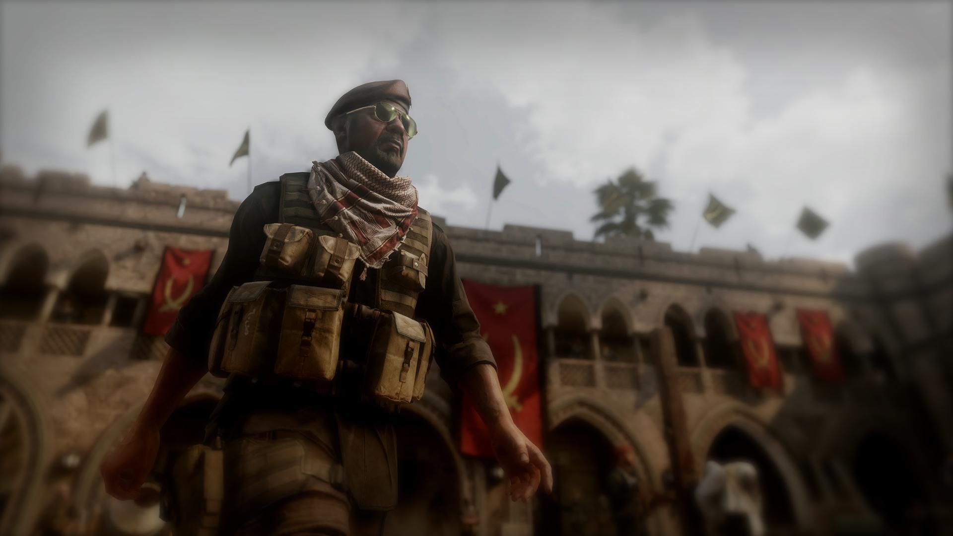 Gabriel Al-Rajhi in Call of Duty: Modern Warfare Remastered (2016)