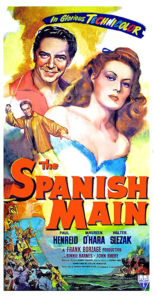 Image result for The Spanish Main 1945