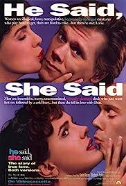 He Said, She Said Poster