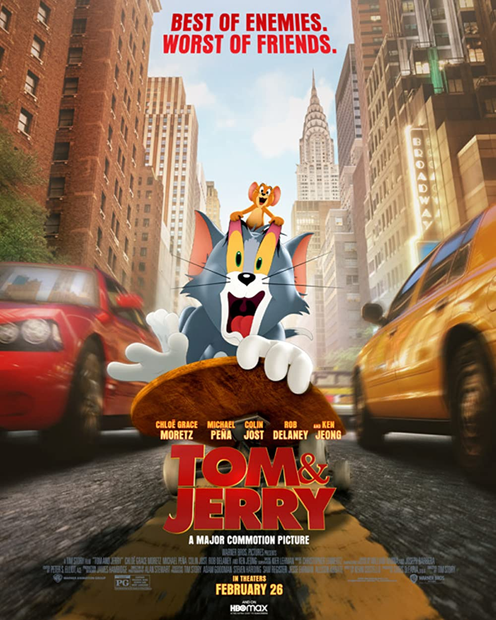 Tom & Jerry 2021 English 720p HDRip 800MB