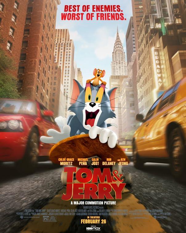 Tom and Jerry (2021) Multi Audio [Hin – Tam – Tel – Eng] x264 AAC Esub