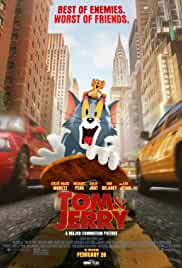 Tom and Jerry (2021) DVDScr Telugu Full Movie Watch Online Free