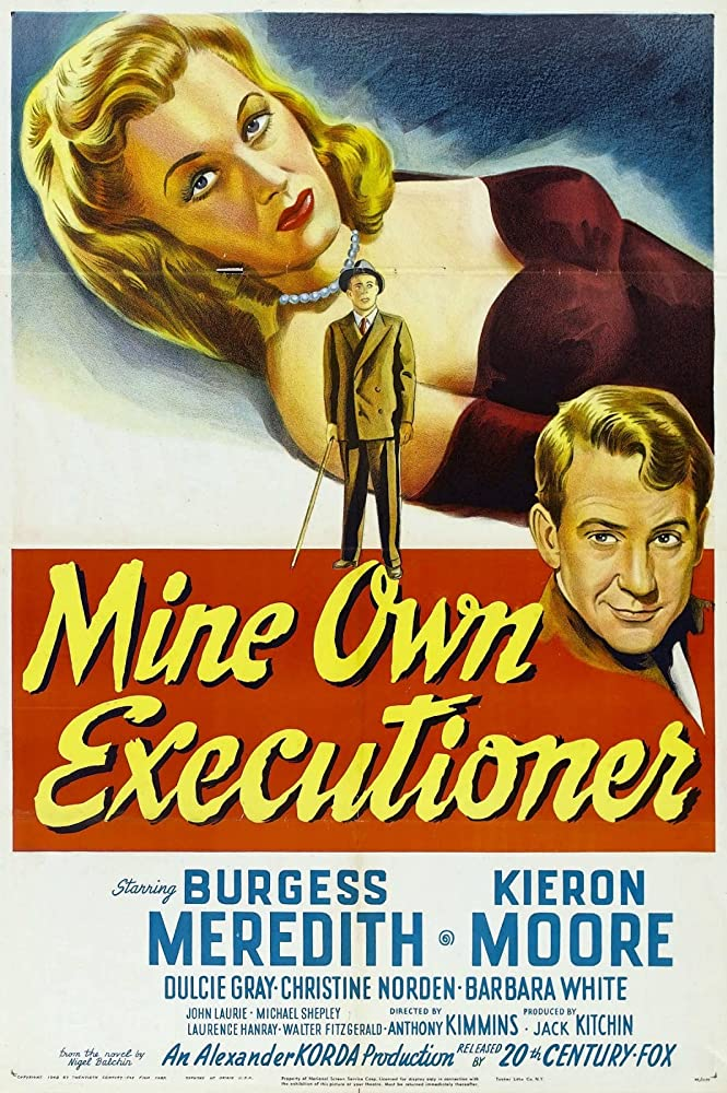 Burgess Meredith and Christine Norden in Mine Own Executioner (1947)