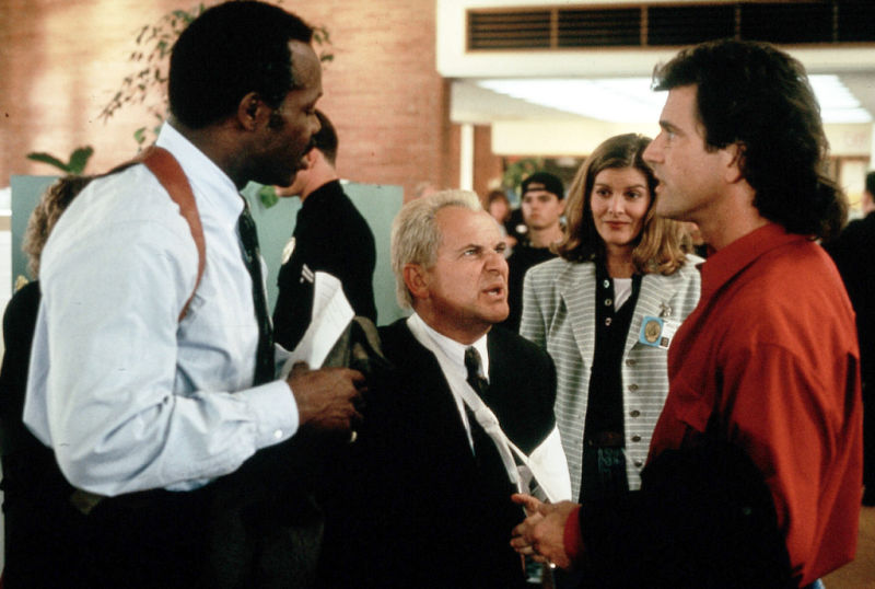 Mel Gibson, Danny Glover, Joe Pesci, and Rene Russo in Lethal Weapon 3 (1992)