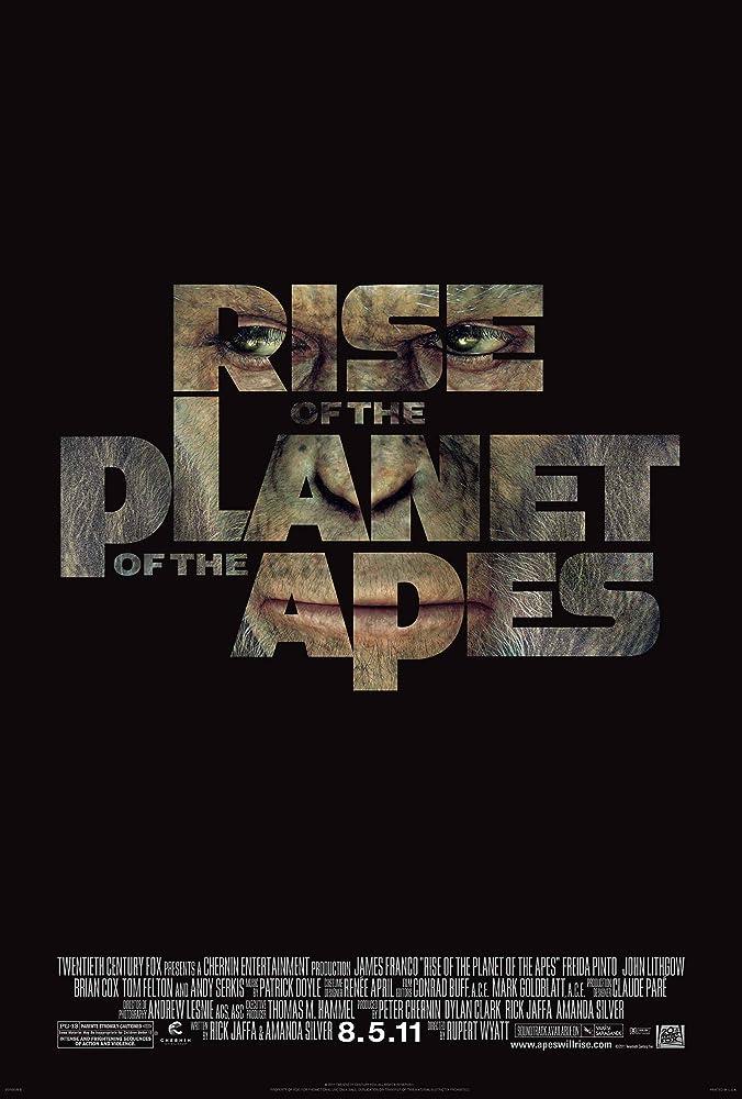 Planeta dos Macacos: A Origem (2011) Dual Áudio | Dublado DVD-R Oficial Uptobox Download