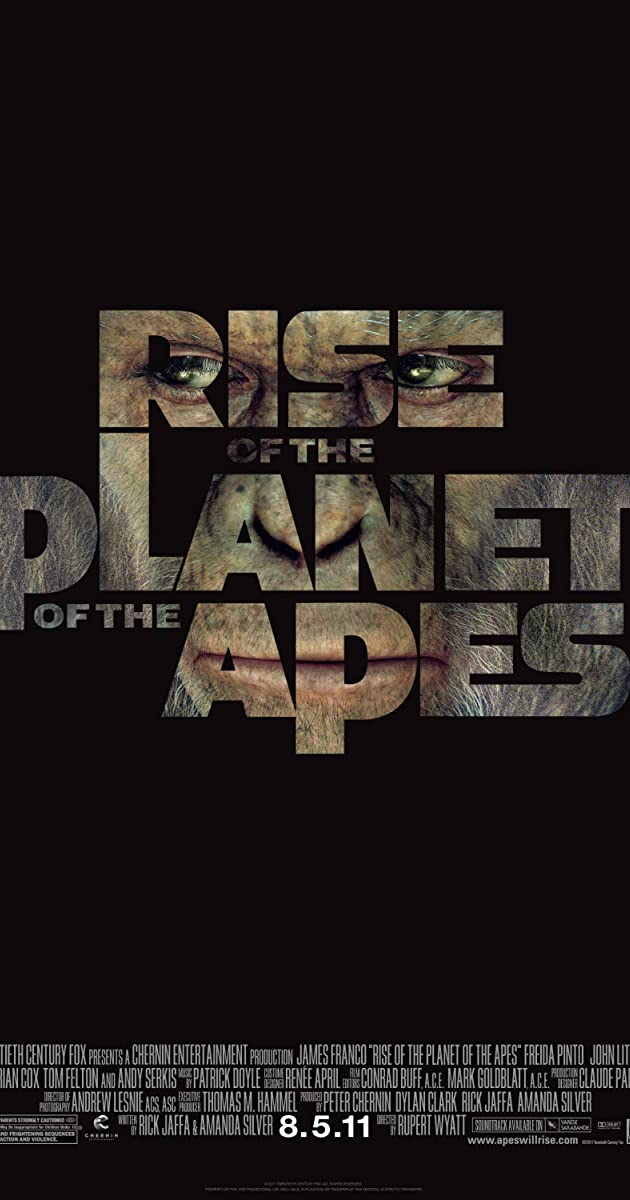 Sự trỗi dậy của hành tinh khỉ - Rise of the Planet of the Apes (2011)