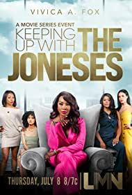Vivica A. Fox, Arie Thompson, Ciarra Carter, Shellie Sterling, and Jasmine Aivaliotis in Keeping Up with the Joneses (2021)