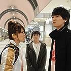 Yôko Maki, Rei Okamoto, and Yûki Furukawa in Nounai poizun berî (2015)