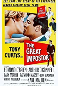Tony Curtis and Sue Ane Langdon in The Great Impostor (1960)