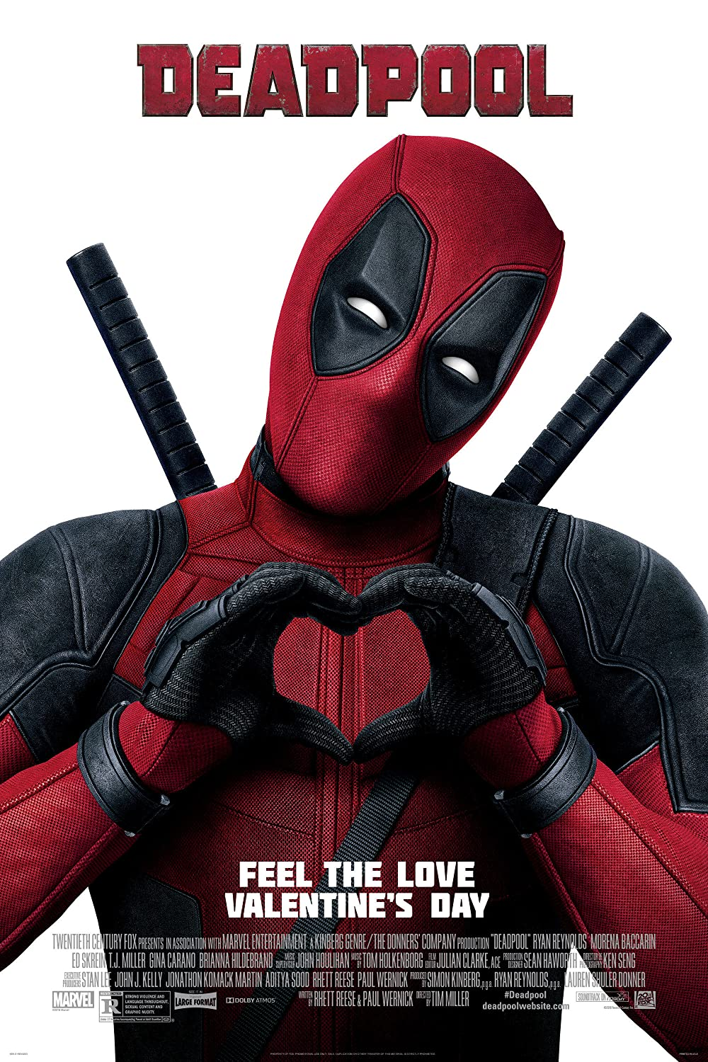 Deadpool 2016 Dual Audio Hindi 720p BluRay ESub 800MB Download