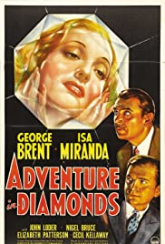 Adventure in Diamonds Poster