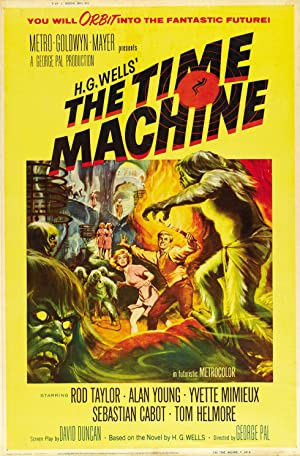 The Time Machine Poster Image