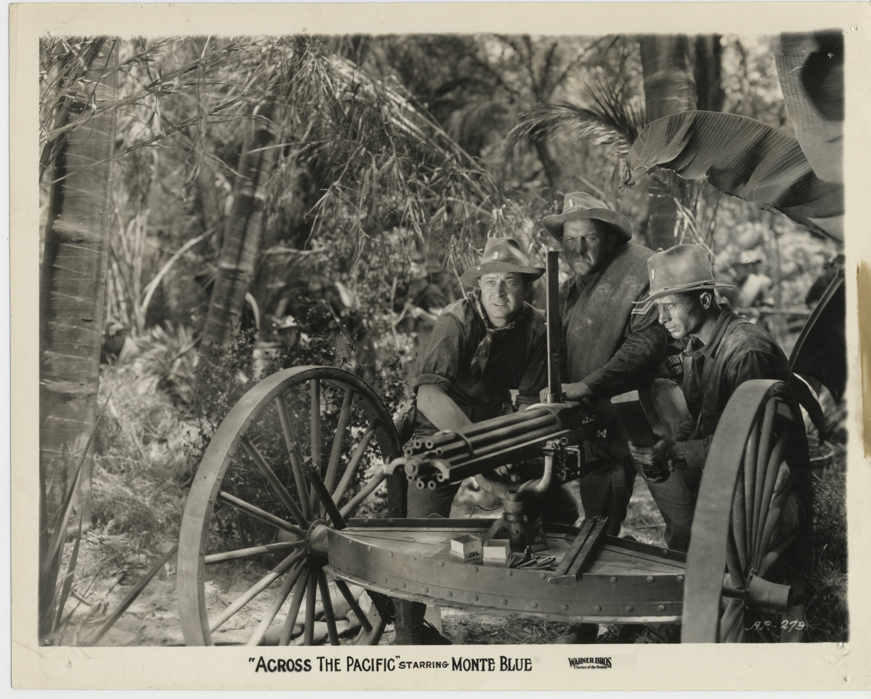 Monte Blue in Across the Pacific (1926)