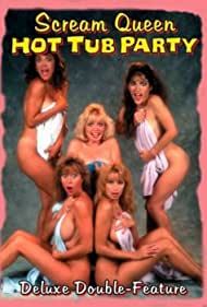 Michelle Bauer, Monique Gabrielle, Roxanne Kernohan, Kelli Maroney, and Brinke Stevens in Scream Queen Hot Tub Party (1991)