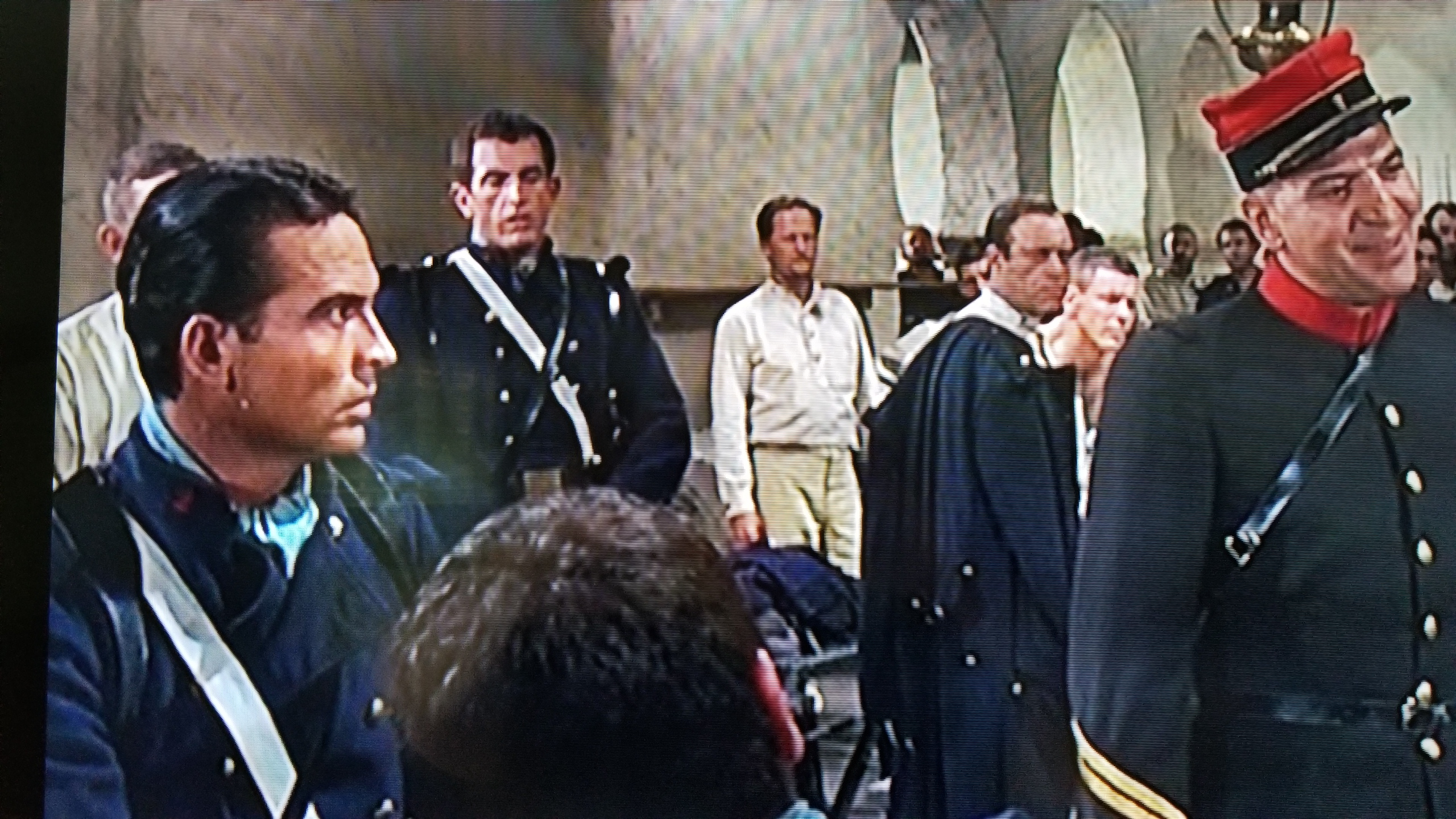 Telly Savalas and X Brands in Beau Geste (1966)