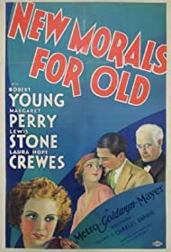 Robert Young, Margaret Perry, and Lewis Stone in New Morals for Old (1932)
