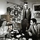 Glenn Ford, Jim Bannon, and Barbara Wooddell in Framed (1947)