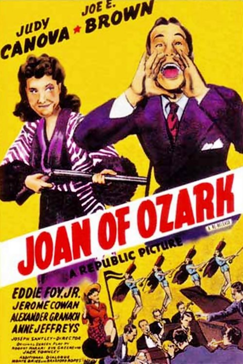 Joe E. Brown and Judy Canova in Joan of Ozark (1942)