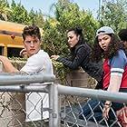 Gregg Sulkin, Lyrica Okano, Allegra Acosta, and Rhenzy Feliz in Runaways (2017)
