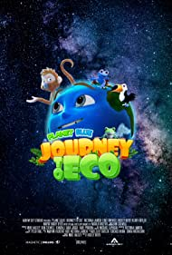 Rickey Boyd, Victoria Lauren, and Luke Drewell in Planet Blue: Journey to Eco (2020)