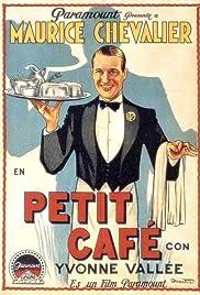 Le petit café Poster