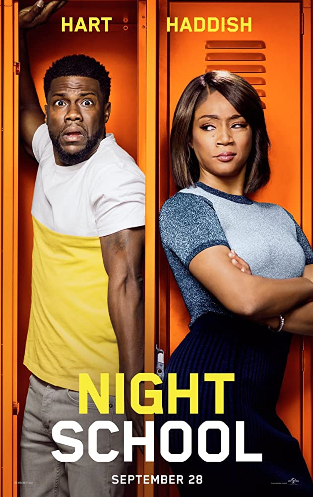 Kevin Hart and Tiffany Haddish in Night School (2018)
